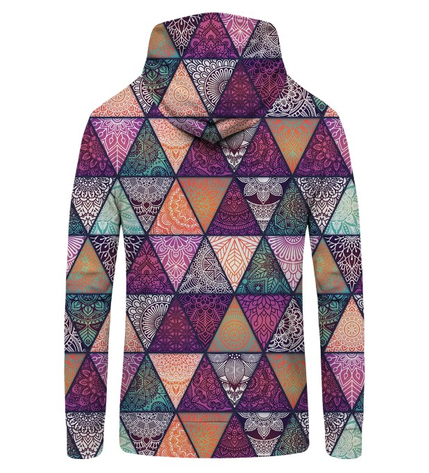 Triangles Zip Up Hoodie Miniature 2