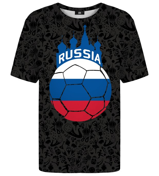 Russian pattern t-shirt Miniatura 1
