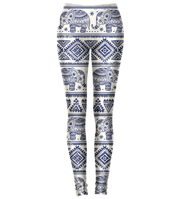 Elephants Pattern Leggings Miniature 1