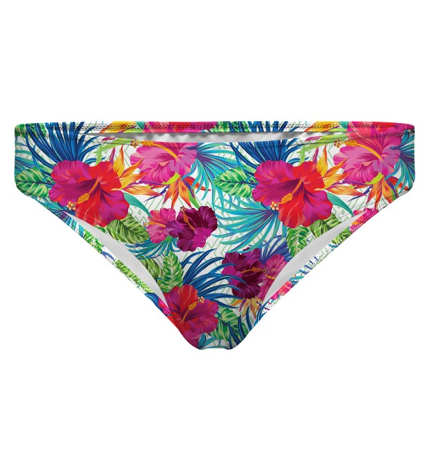 Jungle Flowers regular bikini bottom Miniature 1