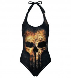 Mr. Gugu & Miss Go, Punisher Face open back swimsuit аватар $i