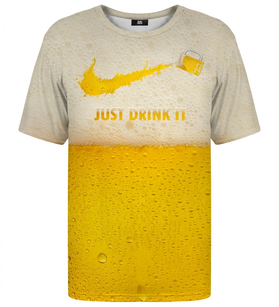 Mr. Gugu & Miss Go, Just drink it t-shirt Immagine $i