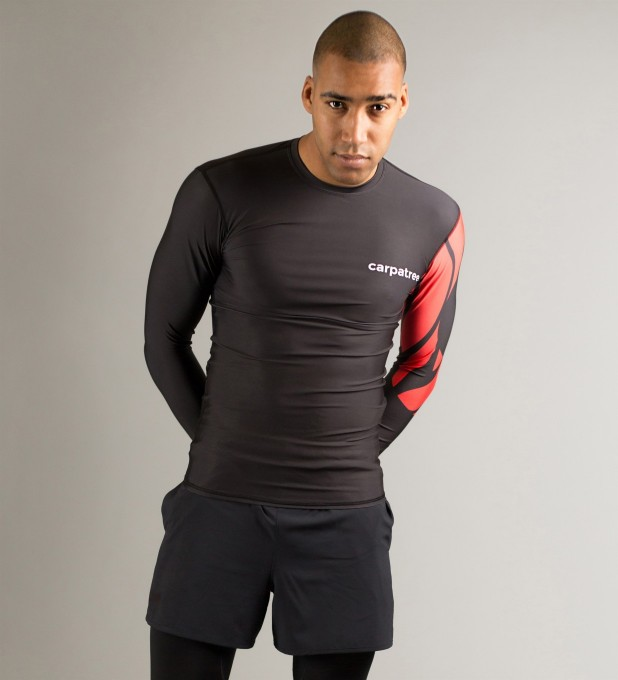 Rashguard Red Sleeve Miniatury 1