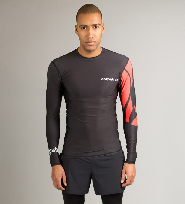 Rashguard Red Sleeve Miniatury 2
