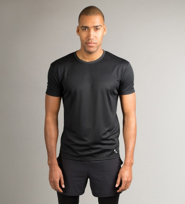 Full Black T-Shirt Miniature 2