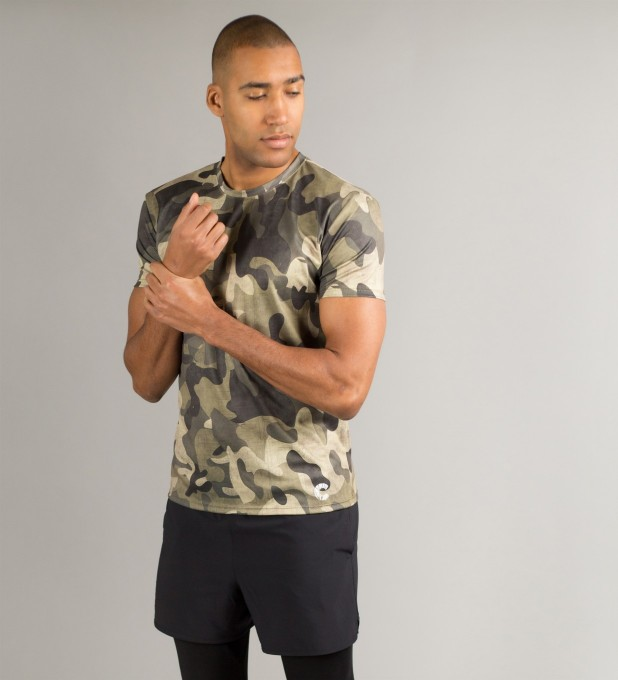 Green Camo T-Shirt Miniature 1