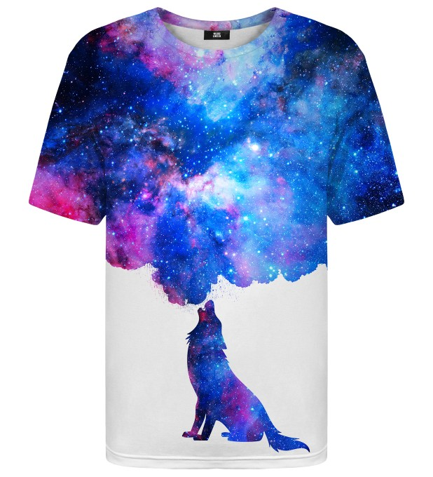 Howling to Galaxy t-shirt Thumbnail 1