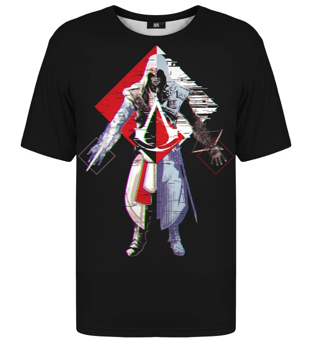 Assassin's Creed Glitch t-shirt Miniatura 1