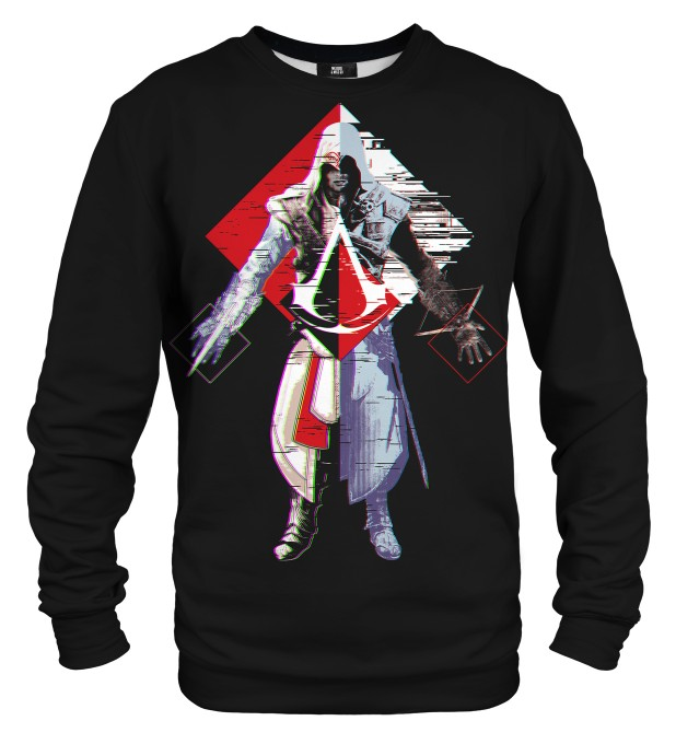 Assassin's Creed Glitch sweater Thumbnail 1