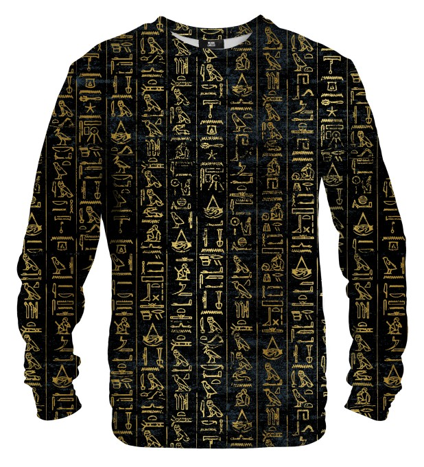 Hieroglyphs sweater Miniature 1