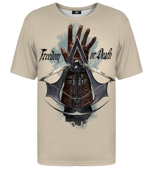 Freedom or Death t-shirt Miniatura 1