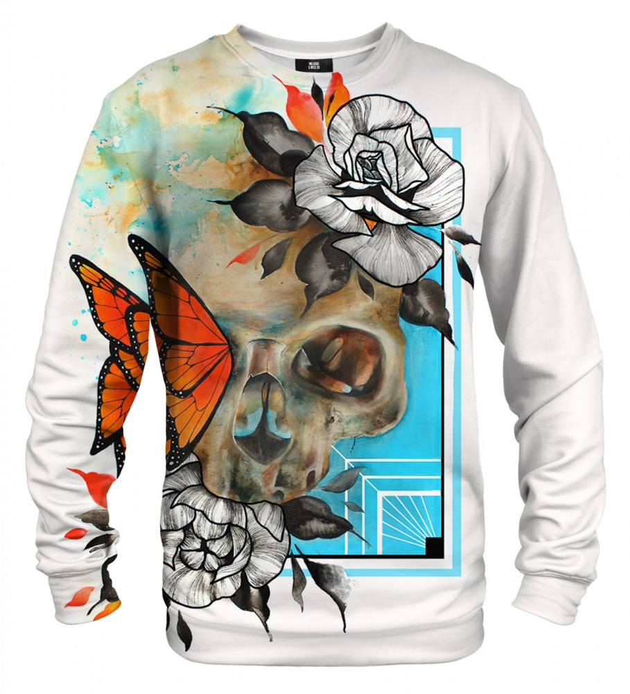 Mr. Gugu & Miss Go, Butterfly & Skull sweater Image $i