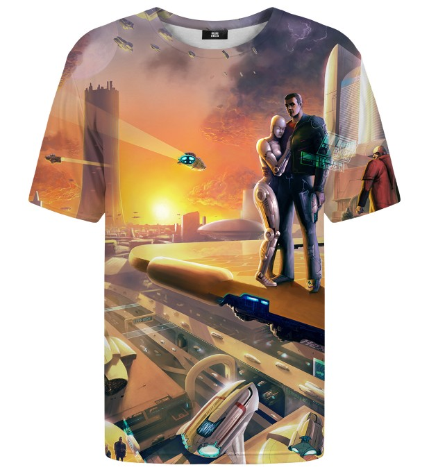 Gaya Spaceport t-shirt Thumbnail 1