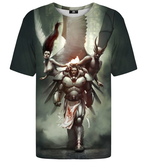 Gamedec with Ghosts t-shirt Miniatura 1