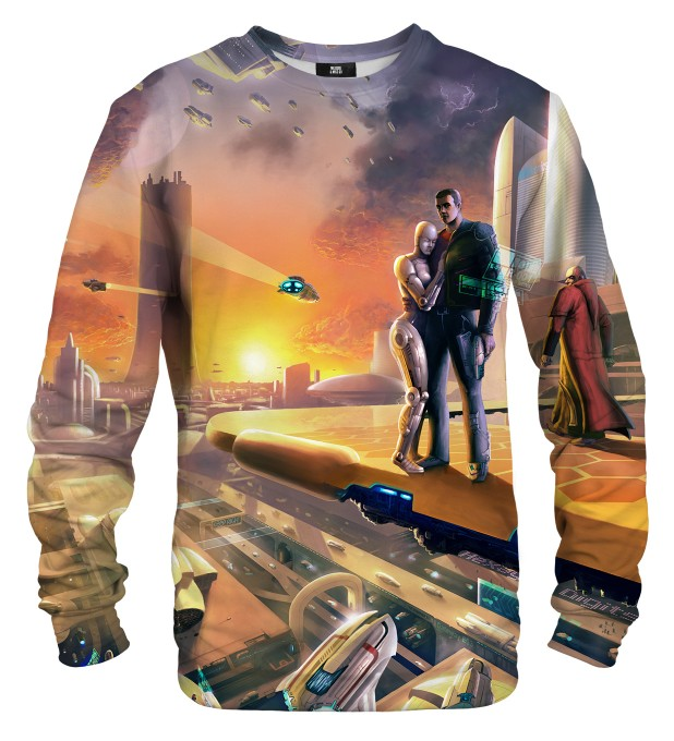 Gaya Spaceport sweater Miniature 1