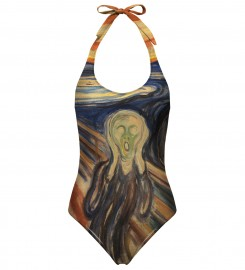 Mr. Gugu & Miss Go, The Scream open back swimsuit аватар $i