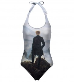 Mr. Gugu & Miss Go, Wanderer above the Sea of Fog open back swimsuit аватар $i