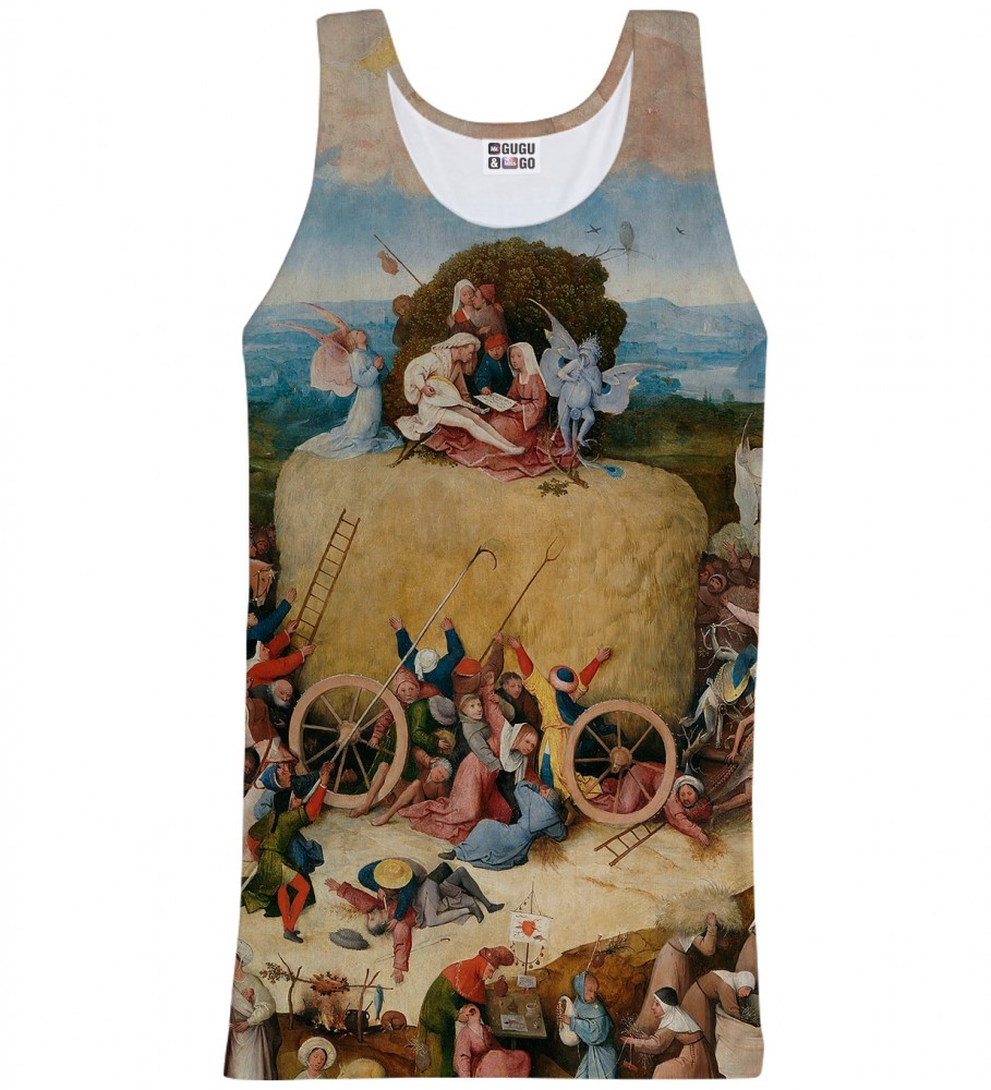 Mr. Gugu & Miss Go, The Hay Wain tank-top Image $i