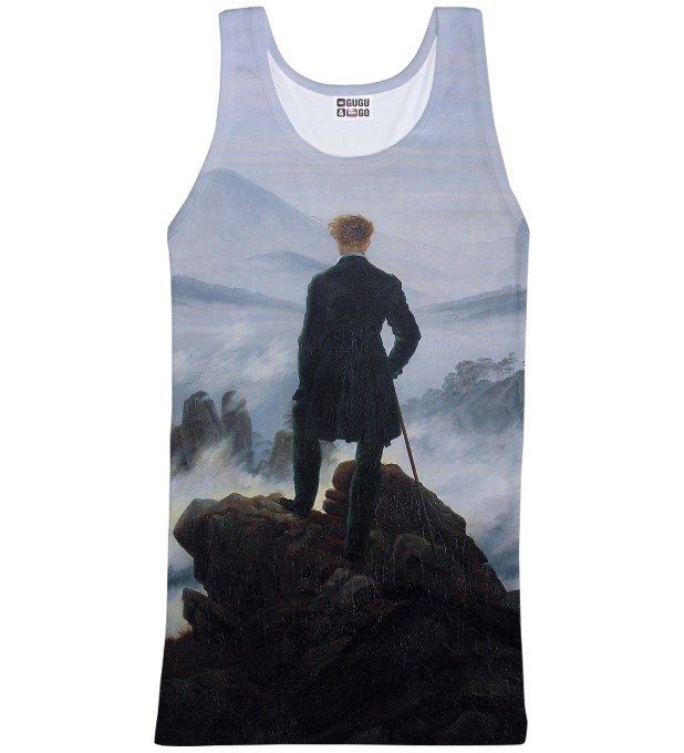 Tank-top ze wzorem Wanderer above the Sea of Fog Miniatury 1