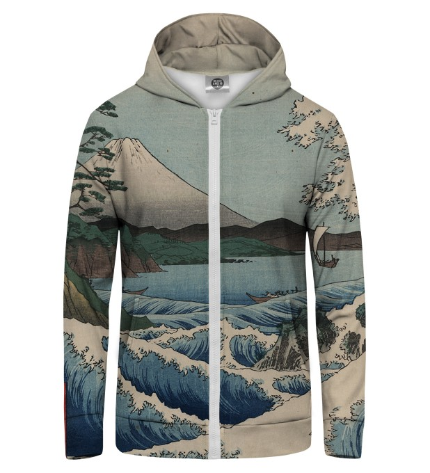 The Sea of Satta Zip Up Hoodie Thumbnail 1