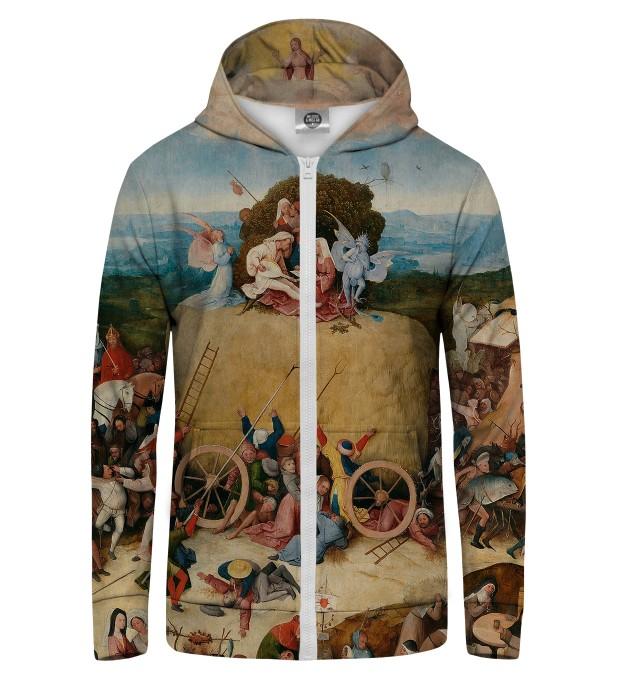 The Hay Wain Zip Up Hoodie Miniature 1