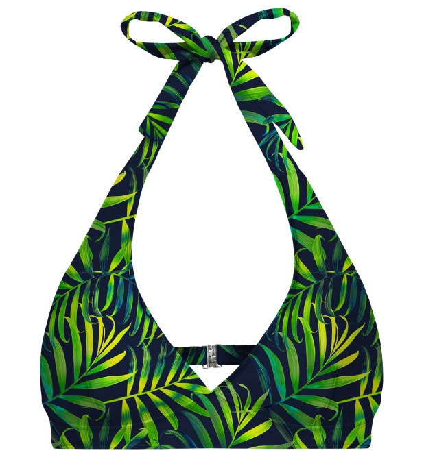 Tropical Power halter neck bikini top Miniature 1
