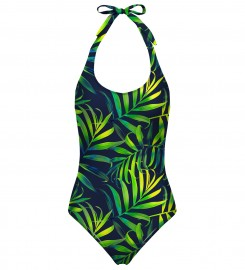 Mr. Gugu & Miss Go, Tropical Power open back swimsuit Miniatura $i