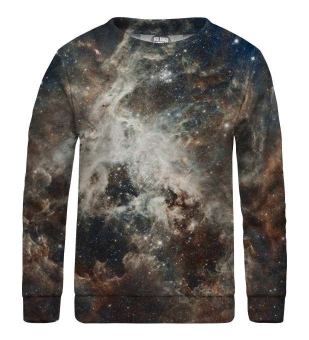 Golden Blue Galaxy sweater for kids  Miniatura 1