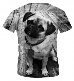 Mr. Gugu & Miss Go, Pug t-shirt pour enfants Miniature $i