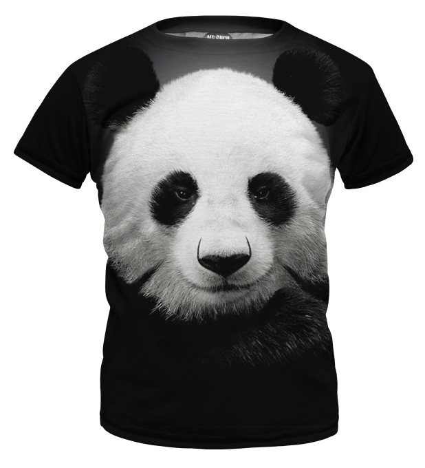 Panda t-shirt for kids Thumbnail 1
