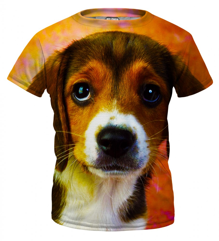 Mr. Gugu & Miss Go, Puppy t-shirt for kids Image $i