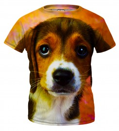 Mr. Gugu & Miss Go, Puppy t-shirt for kids Thumbnail $i