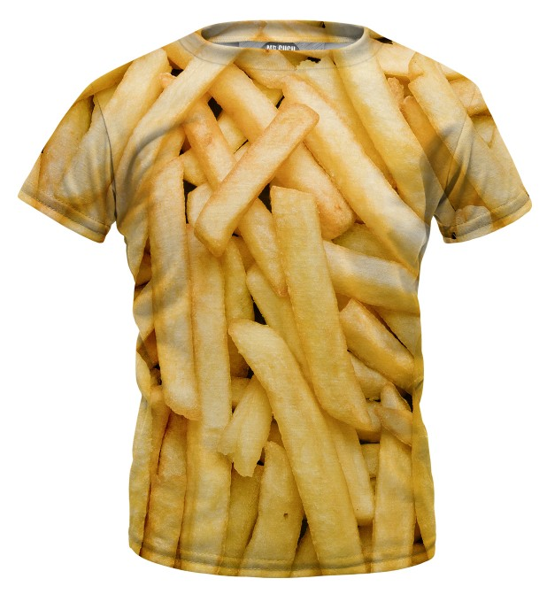 Fries t-shirt for kids Thumbnail 1