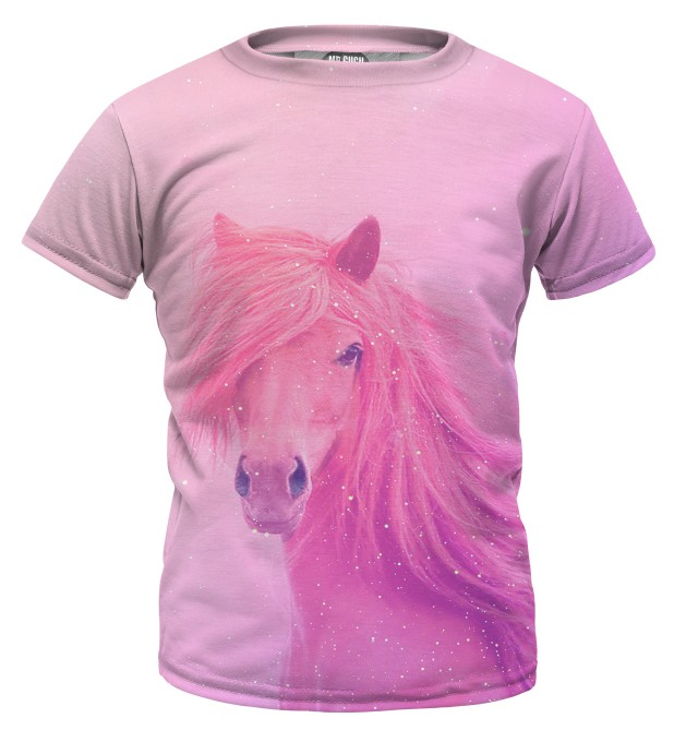 Pink horse t-shirt for kids аватар 1