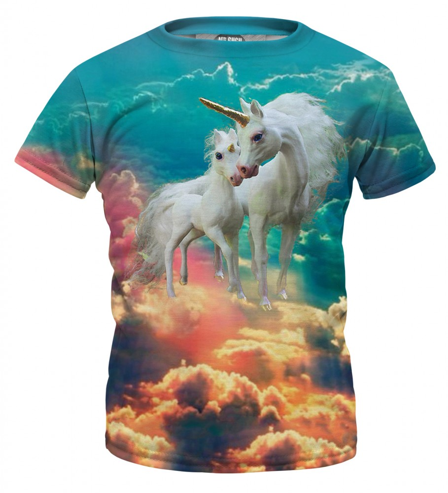 Mr. Gugu & Miss Go, Unicorn family t-shirt for kids Image $i