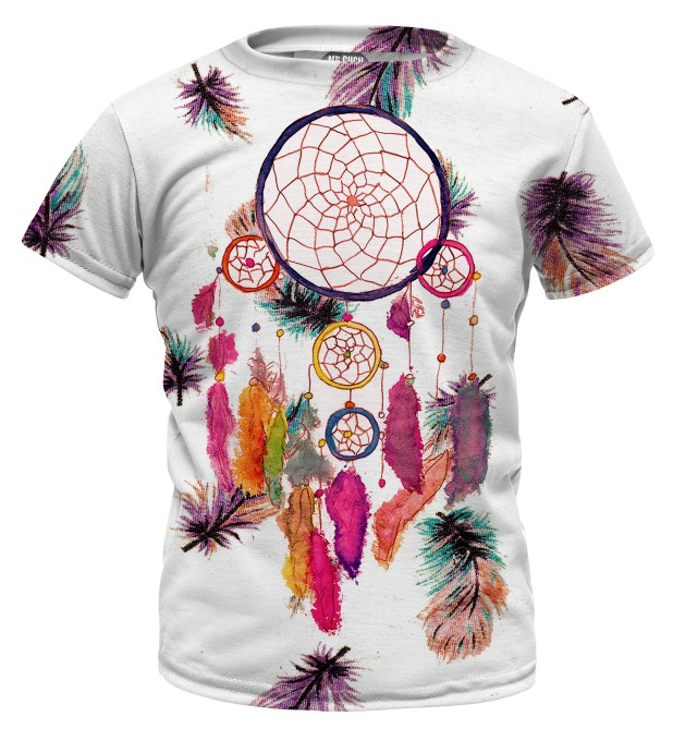 Feathers dreamcatcher t-shirt for kids Miniatura 1