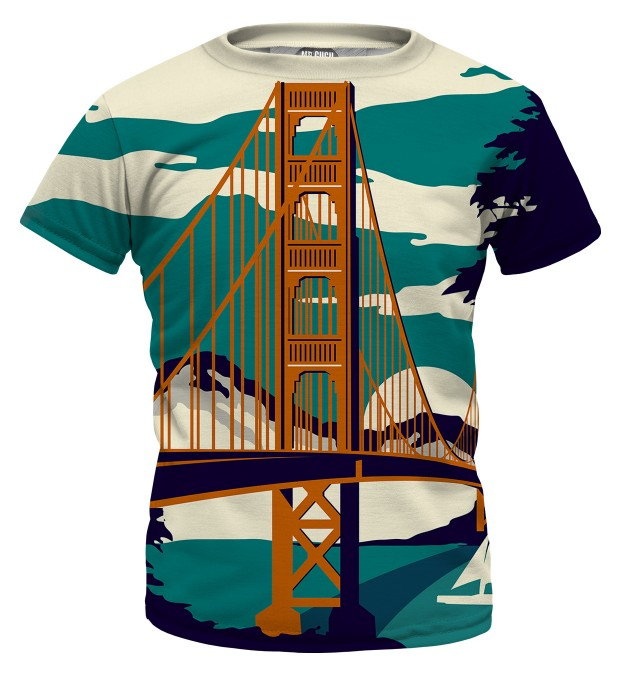 Golden Bridge t-shirt for kids Miniatura 1