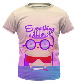 Mr. Gugu & Miss Go, Everything will be ok t-shirt for kids Miniature $i