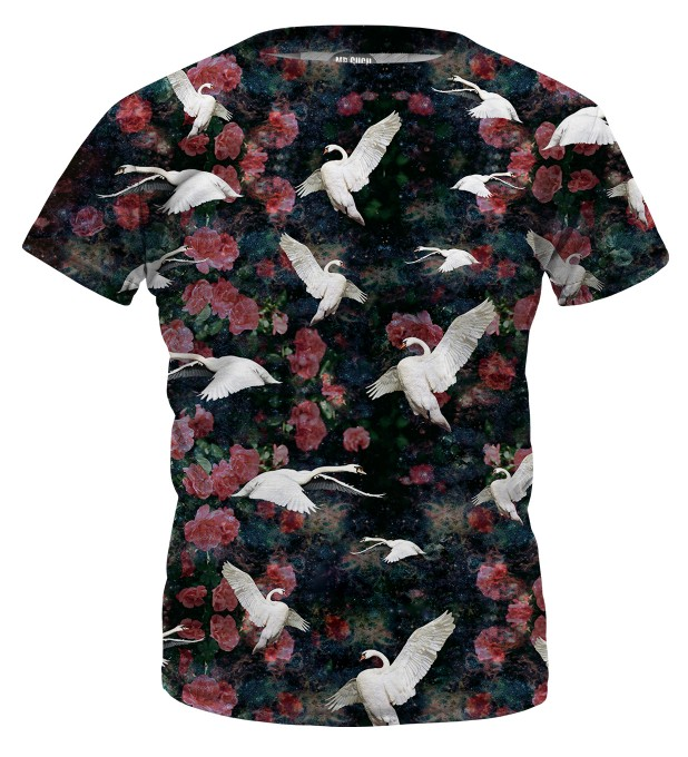 Swans t-shirt for kids Thumbnail 1