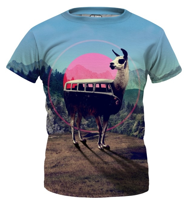 Volkswagen Lama t-shirt for kids Miniature 1
