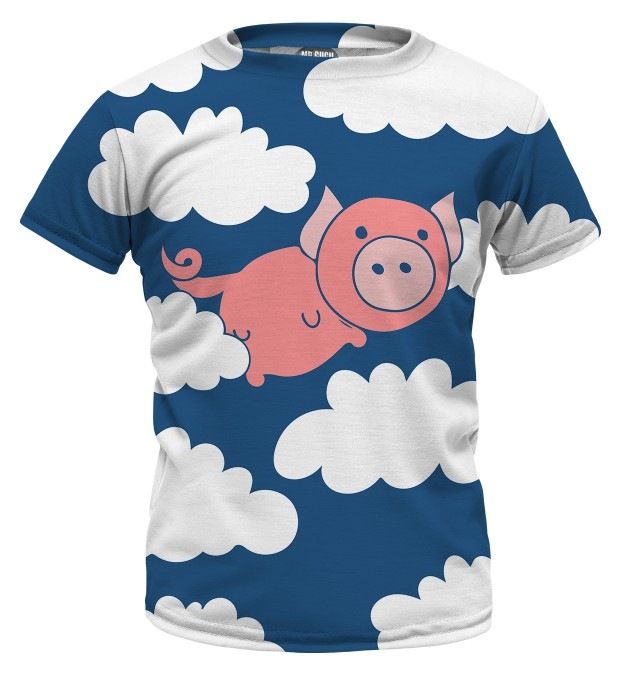 Flying Pigs t-shirt for kids Miniature 1