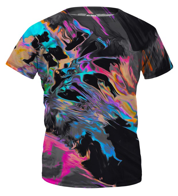 Space colours t-shirt for kids Miniature 1