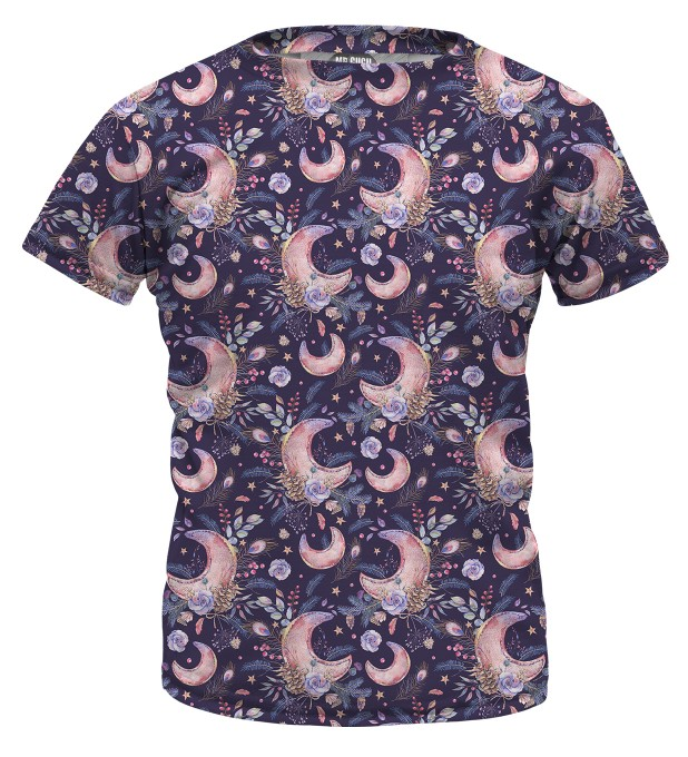 Moon Pattern t-shirt for kids Miniature 1
