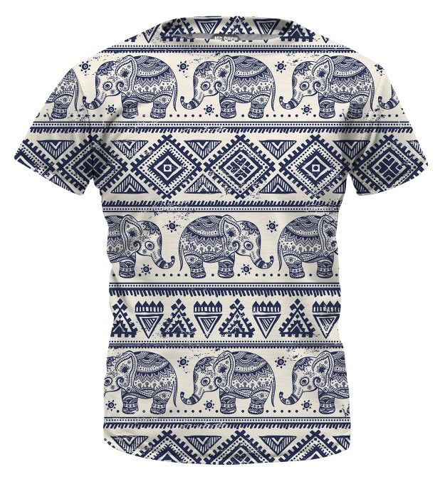 Elephants Pattern t-shirt for kids Miniature 1