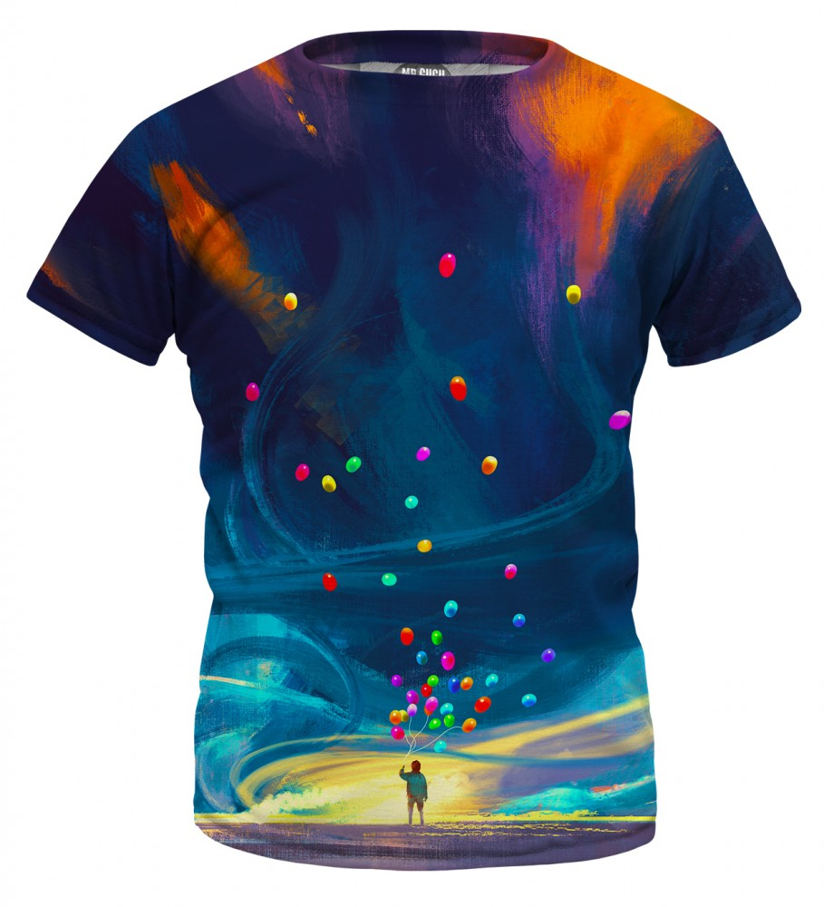 Mr. Gugu & Miss Go, Colorful Balloons t-shirt for kids Imagen $i