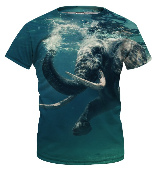 Water Elephant t-shirt for kids Miniature 1