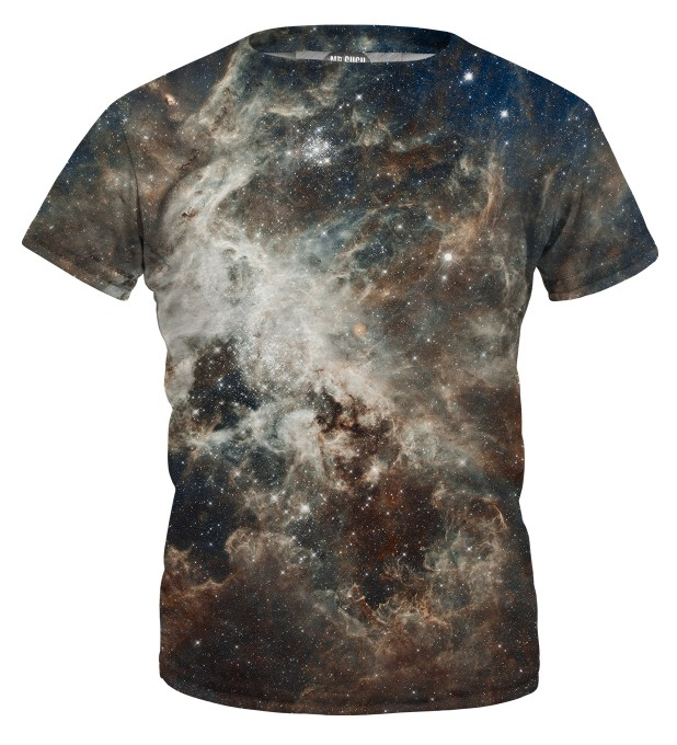Golden Blue Galaxy t-shirt for kids Miniature 1