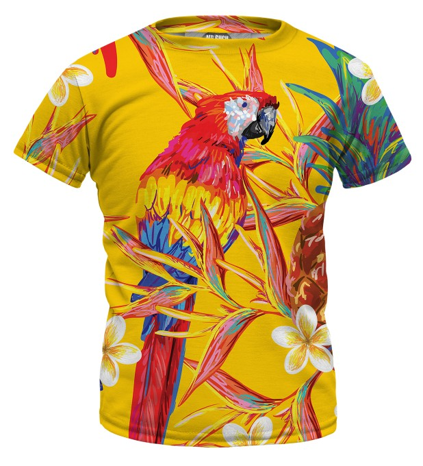 Paradise Parrots t-shirt for kids Miniature 1