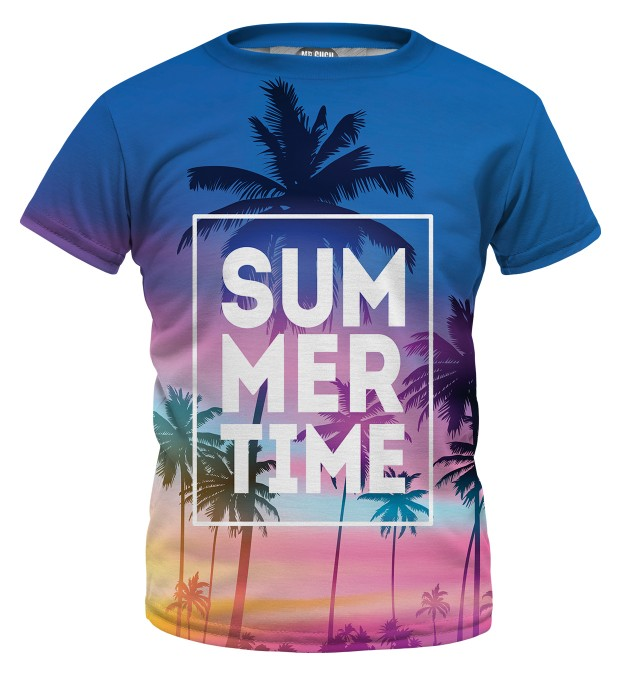 Summer Time t-shirt für Kinder Miniaturbild 1