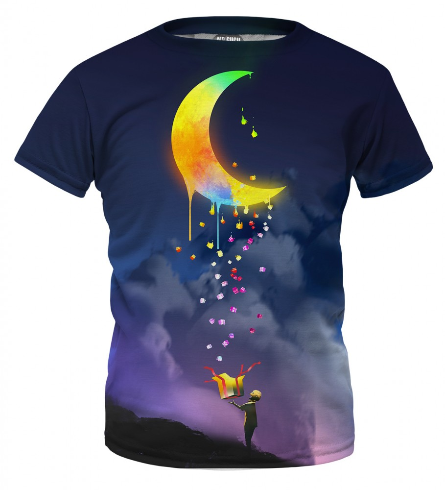 Mr. Gugu & Miss Go, Gifts from the Moon t-shirt for kids Фотография $i